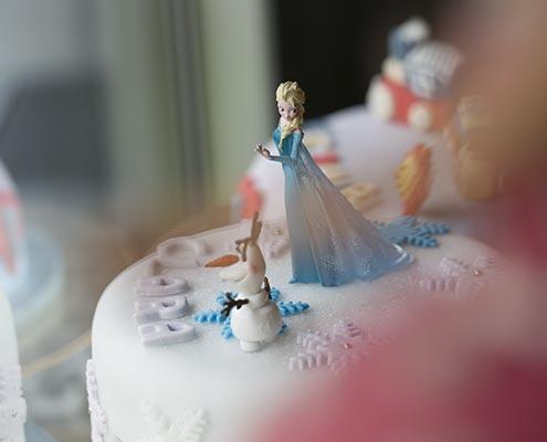 Commander un gateau la reine des neiges